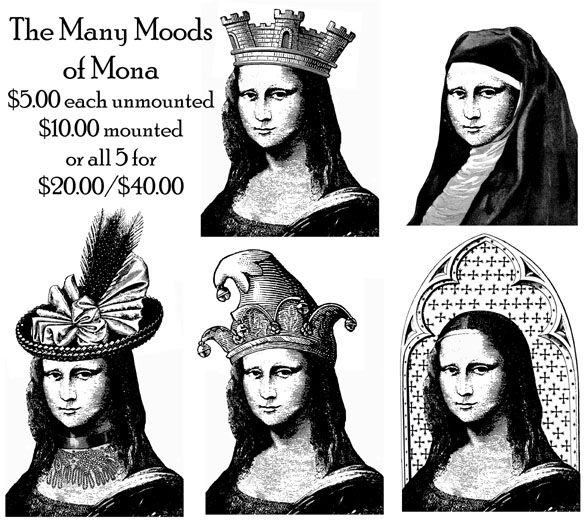 Many Moods of Mona