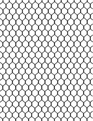 Large Chickenwire Background