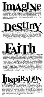 Imagine Faith Destiny Inspiration