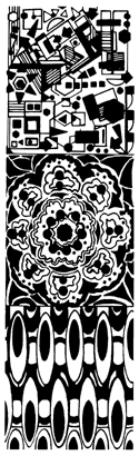 Rose Window Mat
