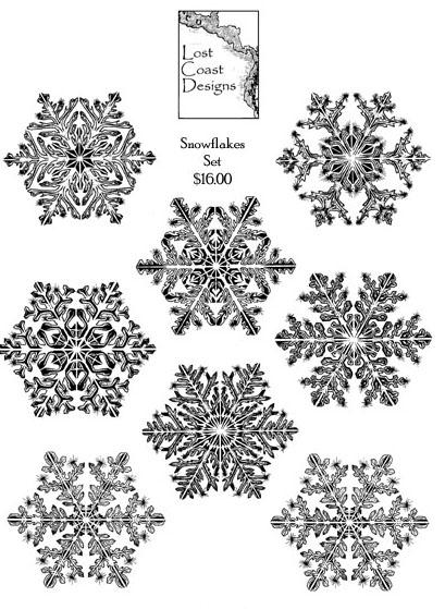 Large Snowflakes